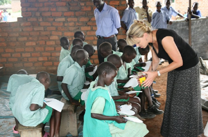 Teaching in Uganda